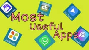 Most useful android apps in daily life - 2020