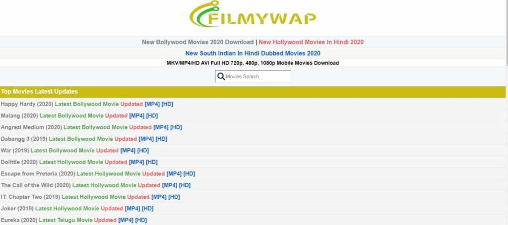 Filmywap 2021: Latest Bollywood Hindi Movies Download